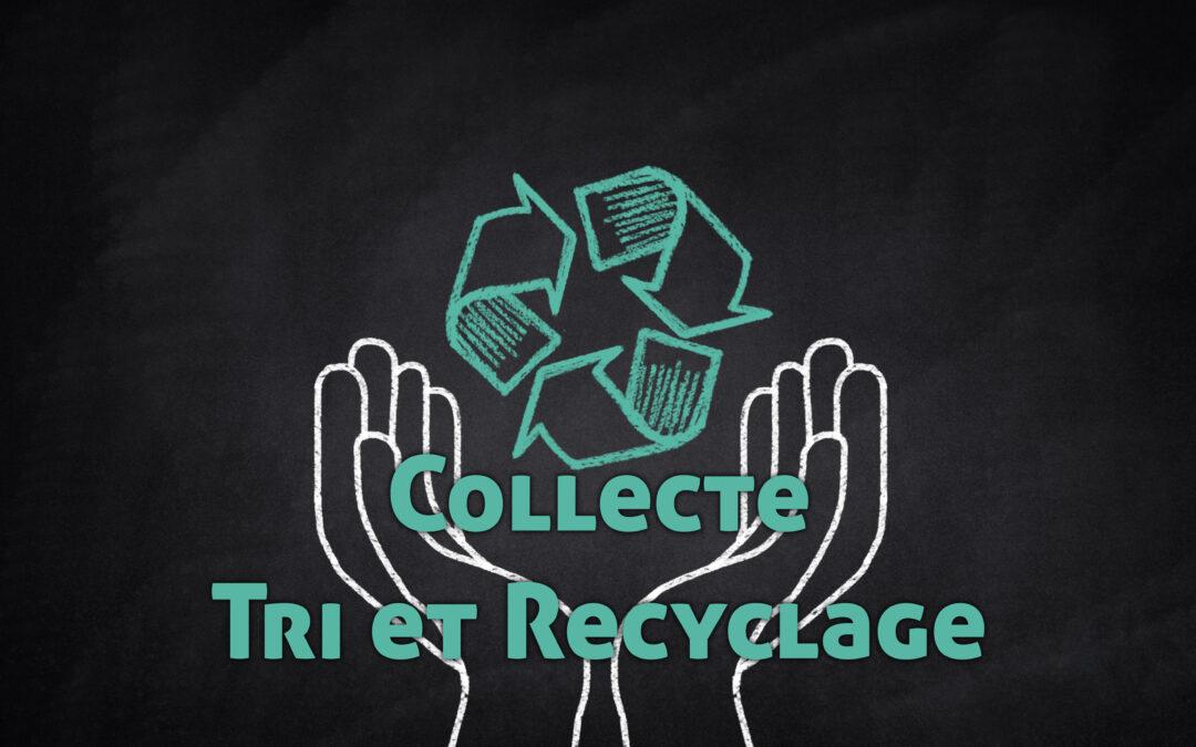 Collecte de tri et de recyclage